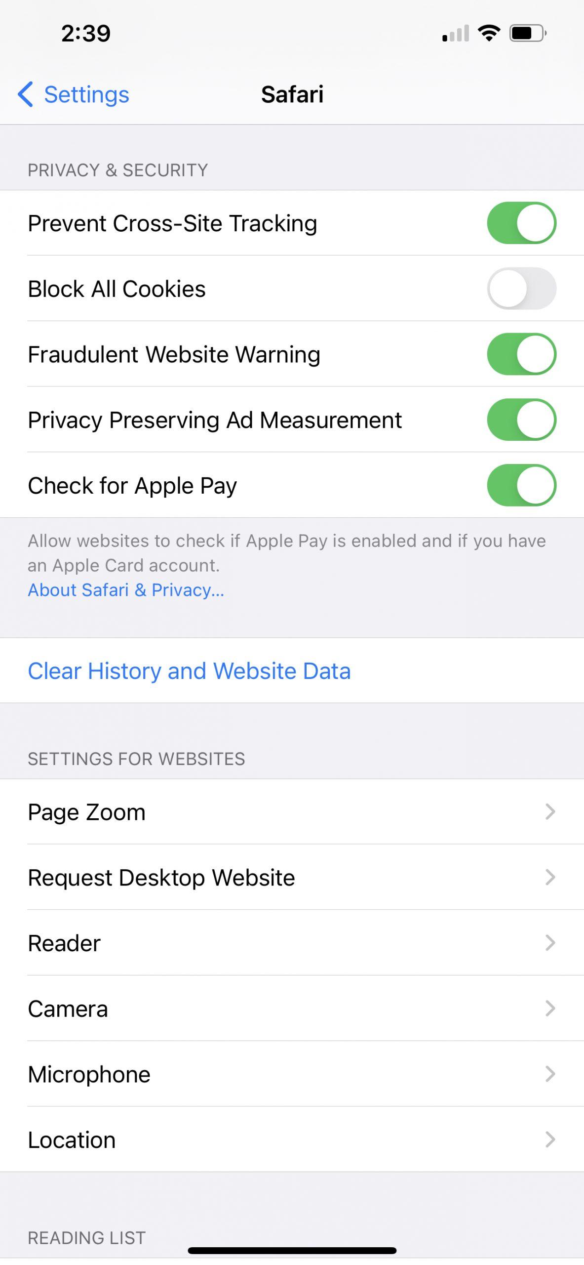Cách chặn theo dõi khi lướt web bằng Safari trên iOS