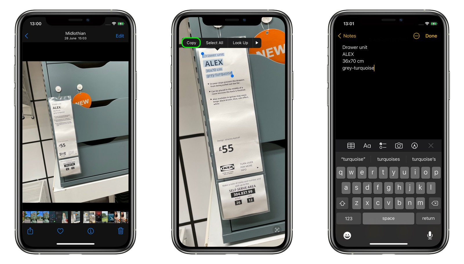 Hướng dẫn Copy/Paste ký tự trong hình ảnh trên iOS 15