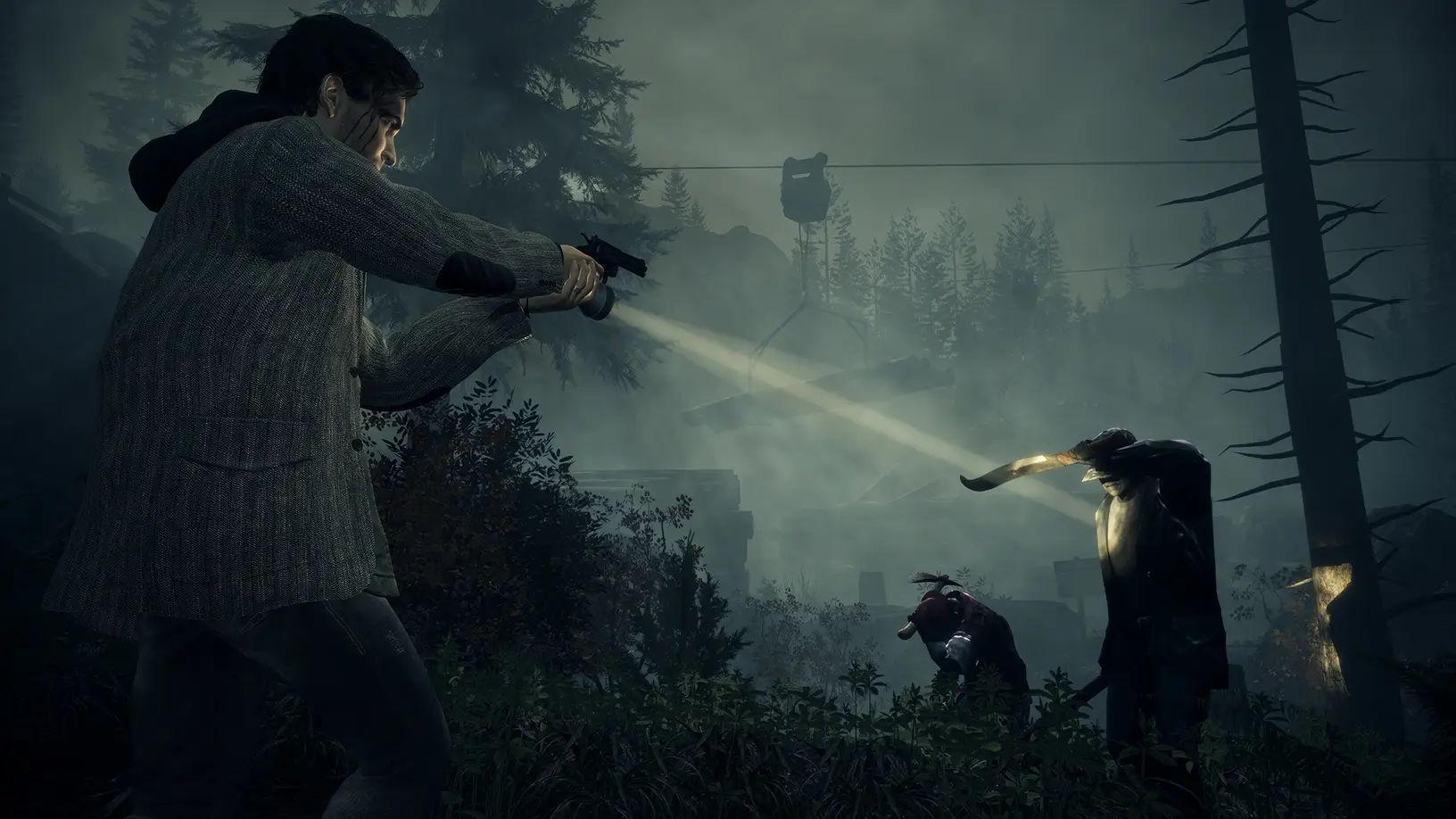 Trailer chính thức của Alan Wake remaster, ngày 5/10 phát hành