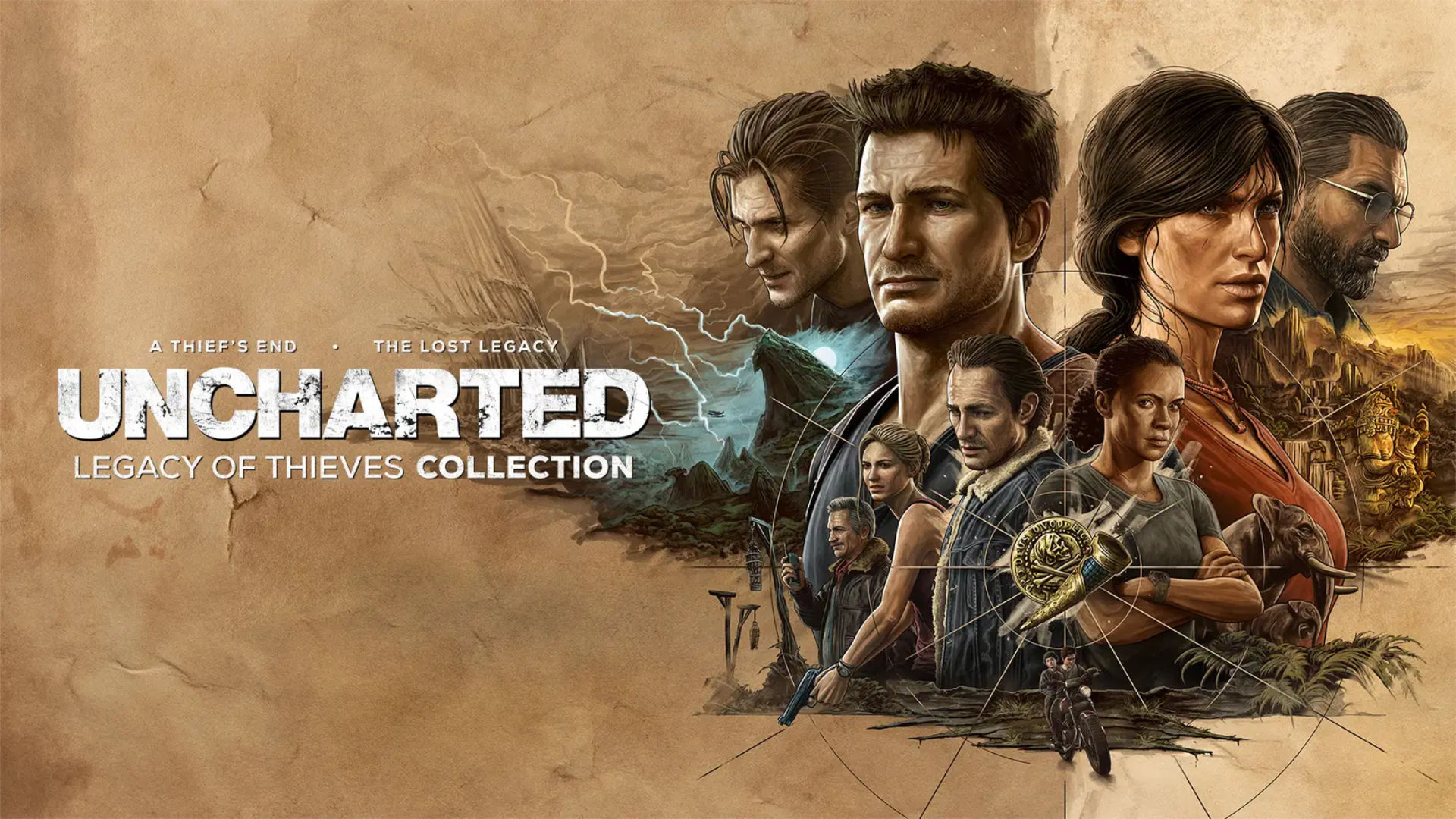 Uncharted Legacy of Thieves Collection Featured ps5 ontop.vn