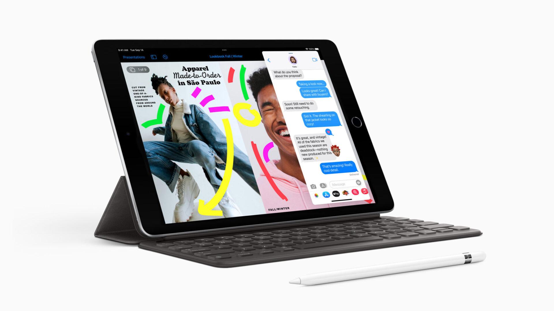 Apple ra mắt iPad 9th: Chip A13, hỗ trợ Apple Pencil 1, $329