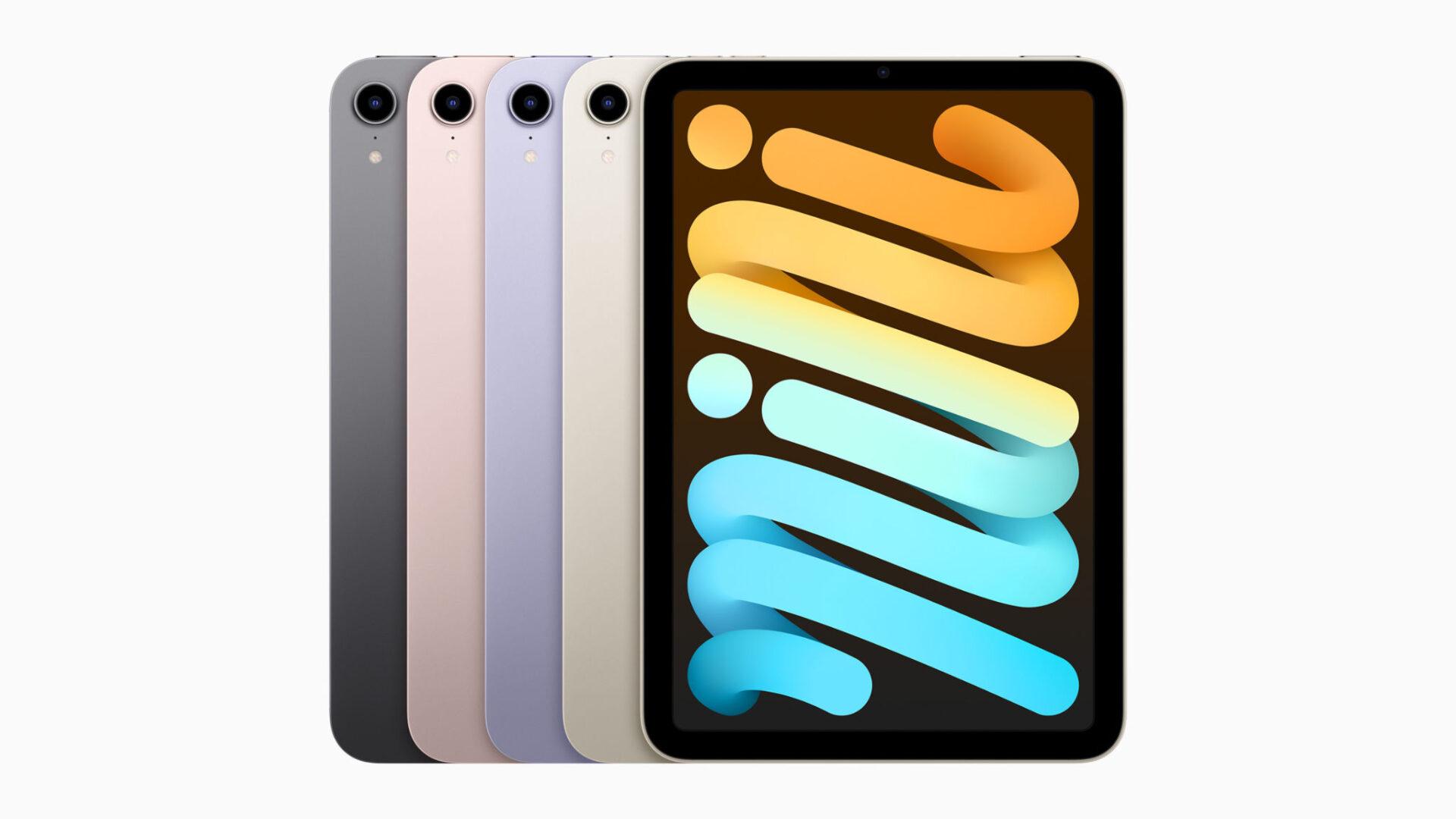 Apple ra mắt iPad mini 6: Thiết kế mới, nhiều màu, Apple Pencil, $499