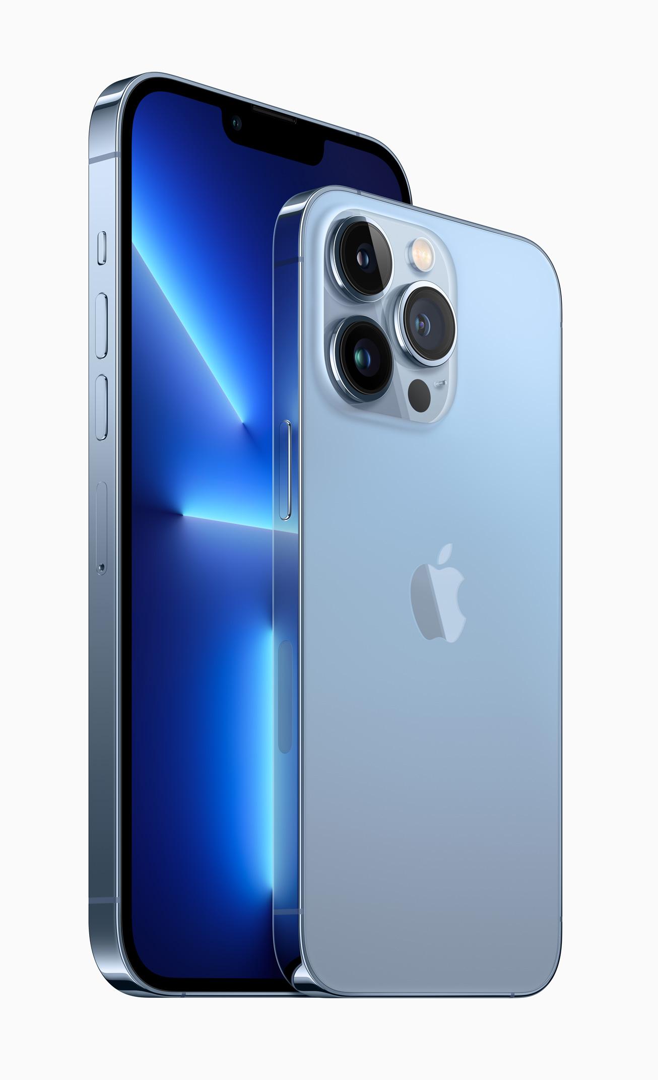 Apple ra mắt iPhone 13 Pro và Pro Max: Màn hình 120Hz