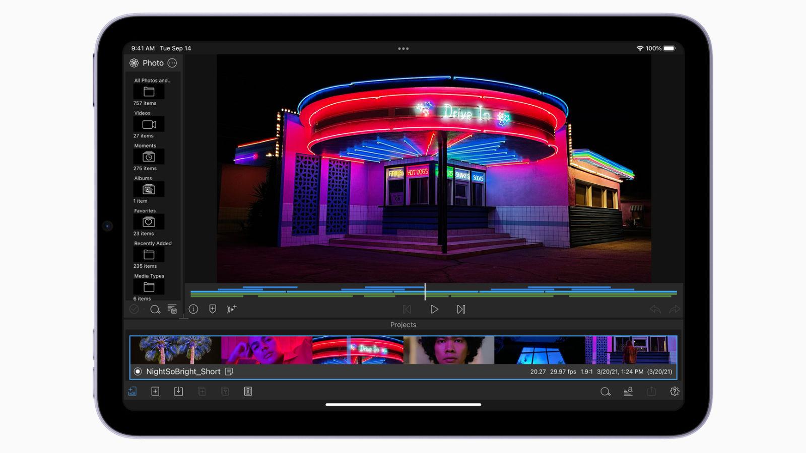App chỉnh sửa video hỗ trợ ProRes trên iPhone và iPad