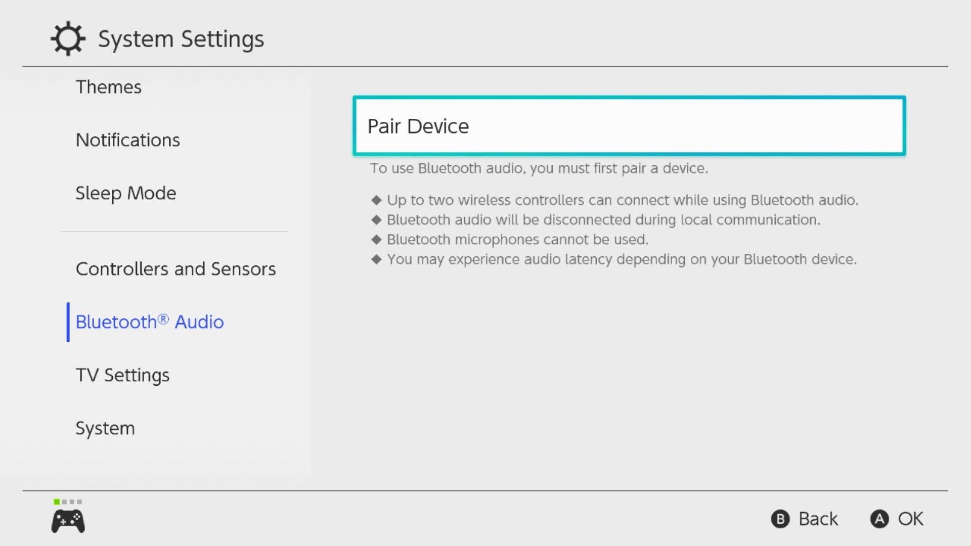 Hướng dẫn cách kết nối Nintendo Switch với tai nghe AirPods qua Bluetooth